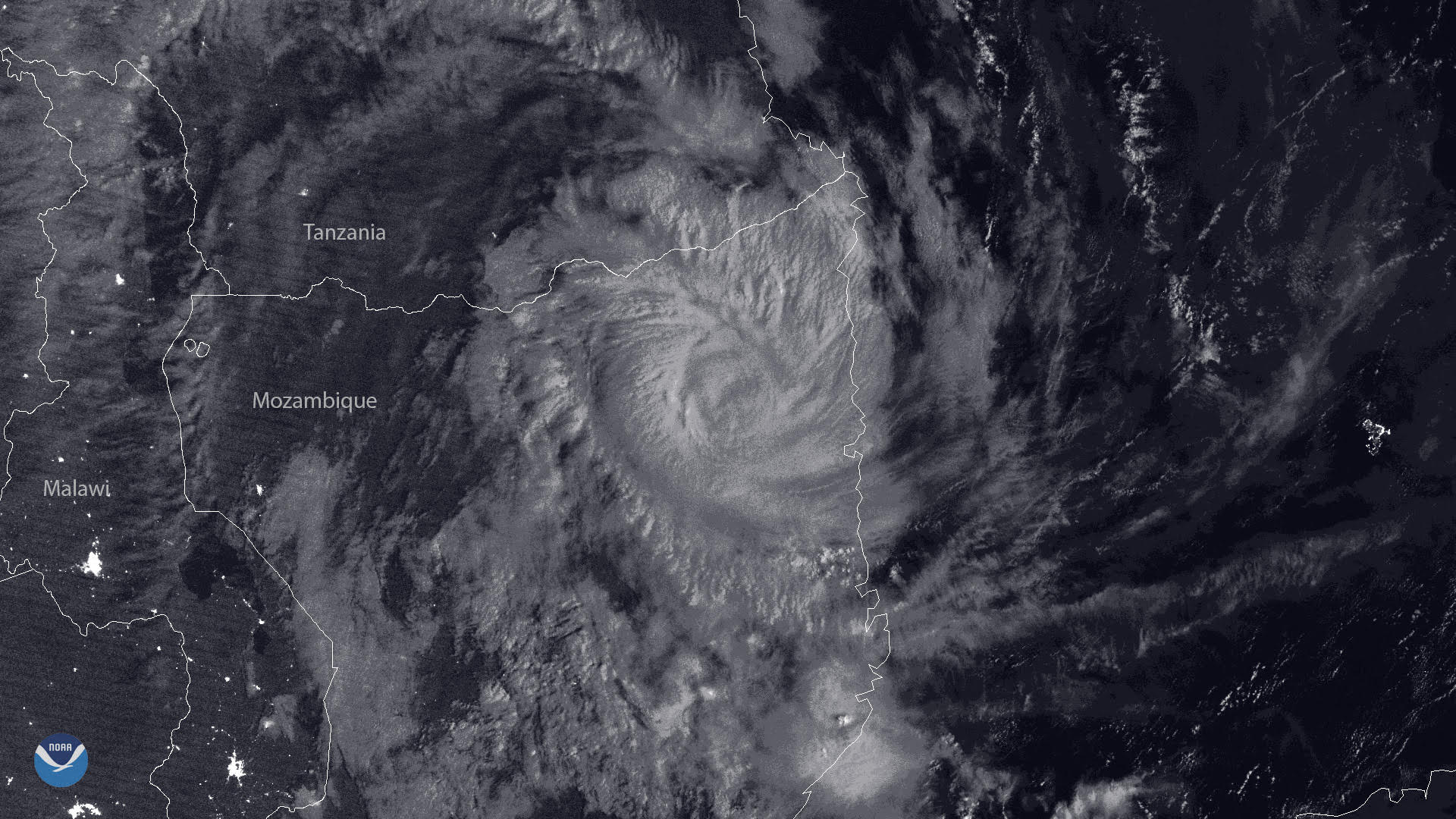 Tropical Cyclone Kenneth Makes Unprecedented Landfall in Mozambique