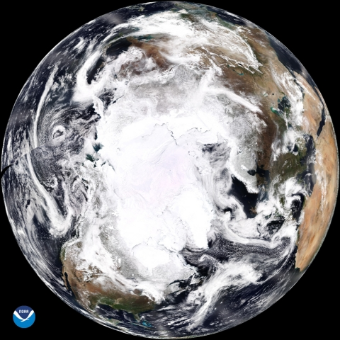 NOAA-20 Polar View