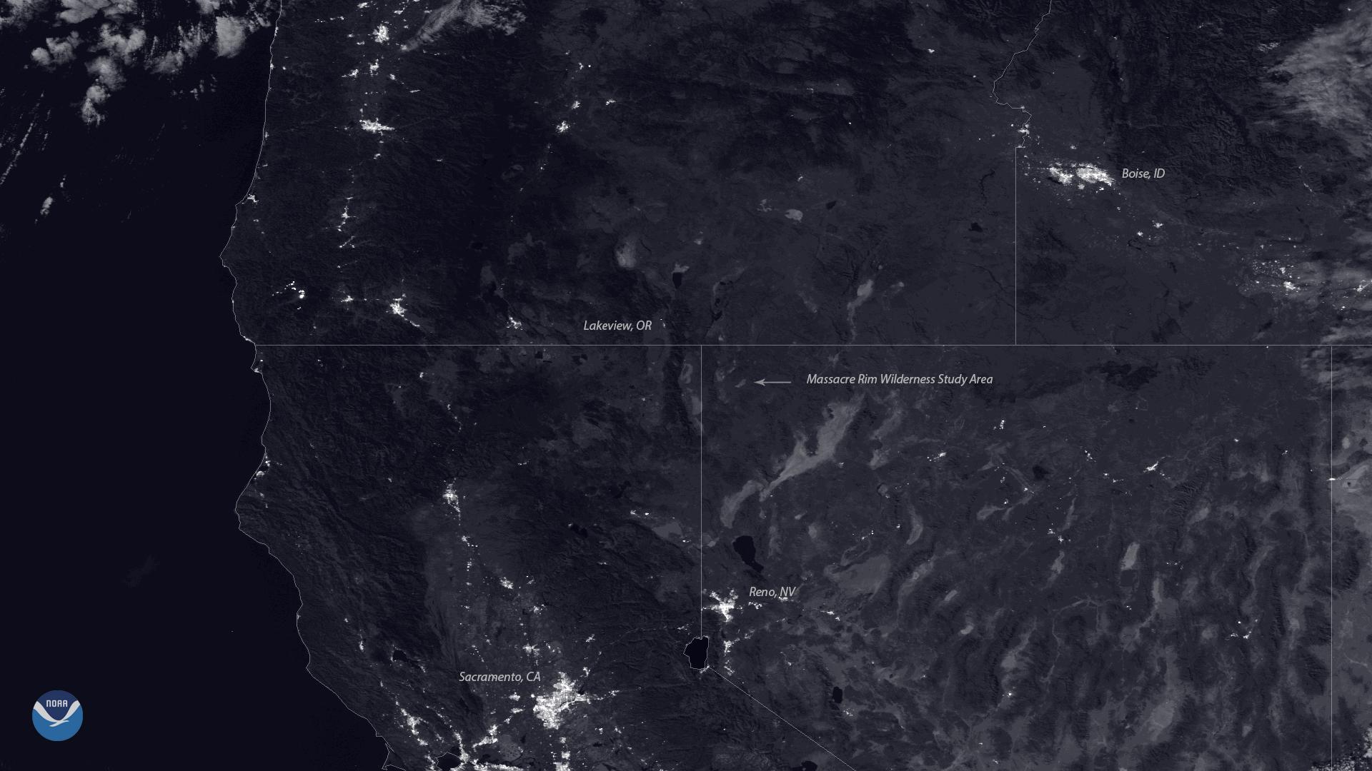 Nevada's Massacre Rim Wilderness Study Area Named Dark Sky Sanctuary