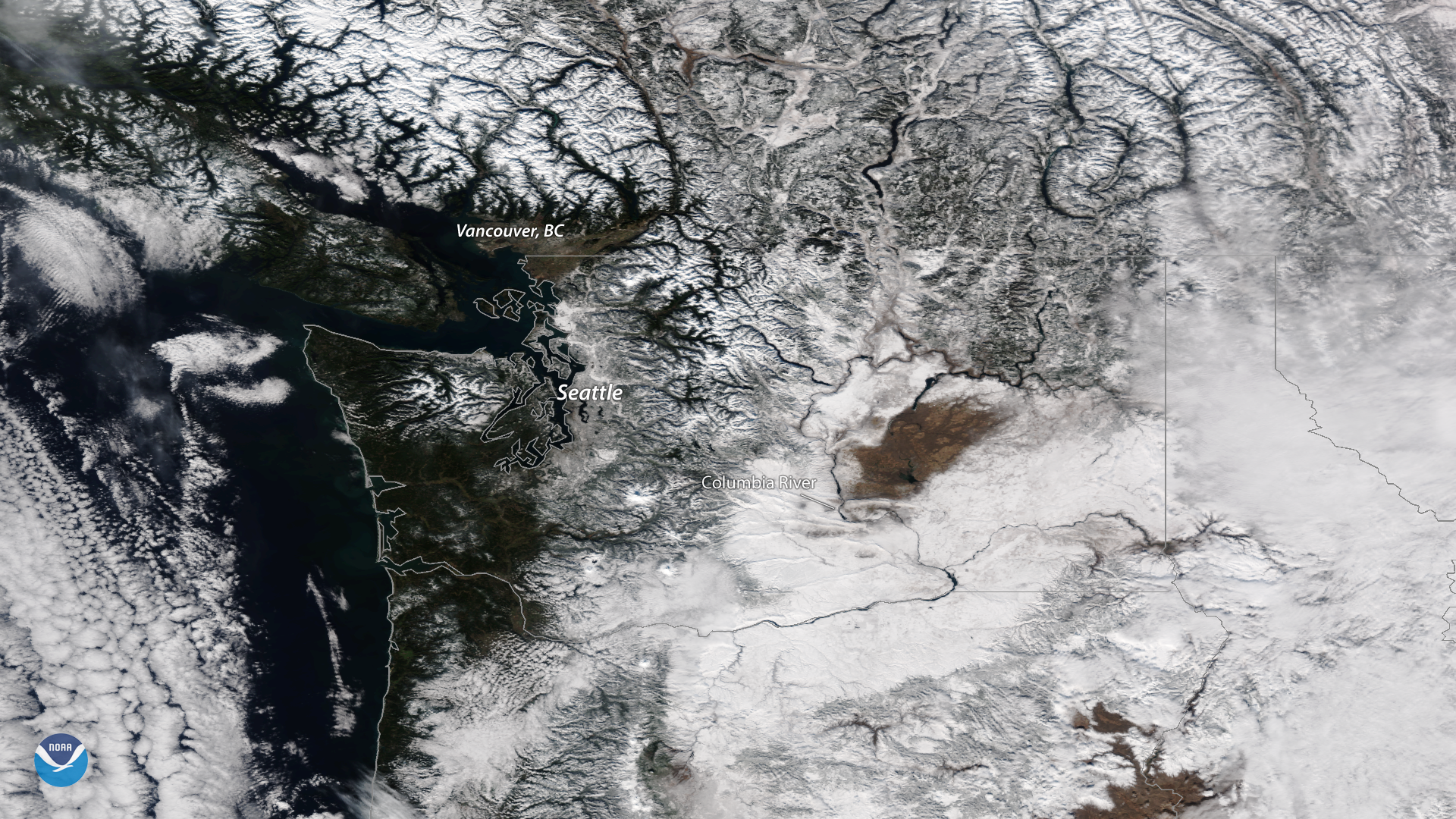 The Snowy Pacific Northwest