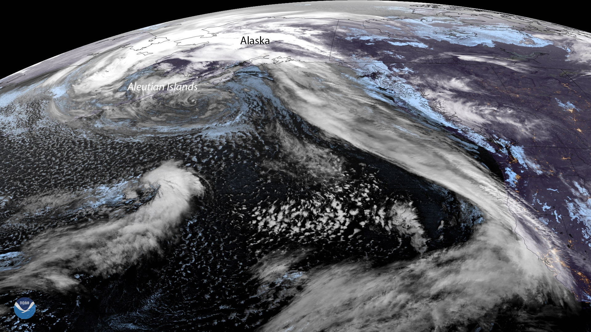 GOES West Watches Aleutian Low
