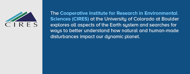CIRES - Cooperative Institute for Research In Environmental Sciences web site