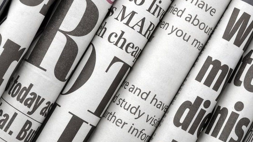 Image of various news papers