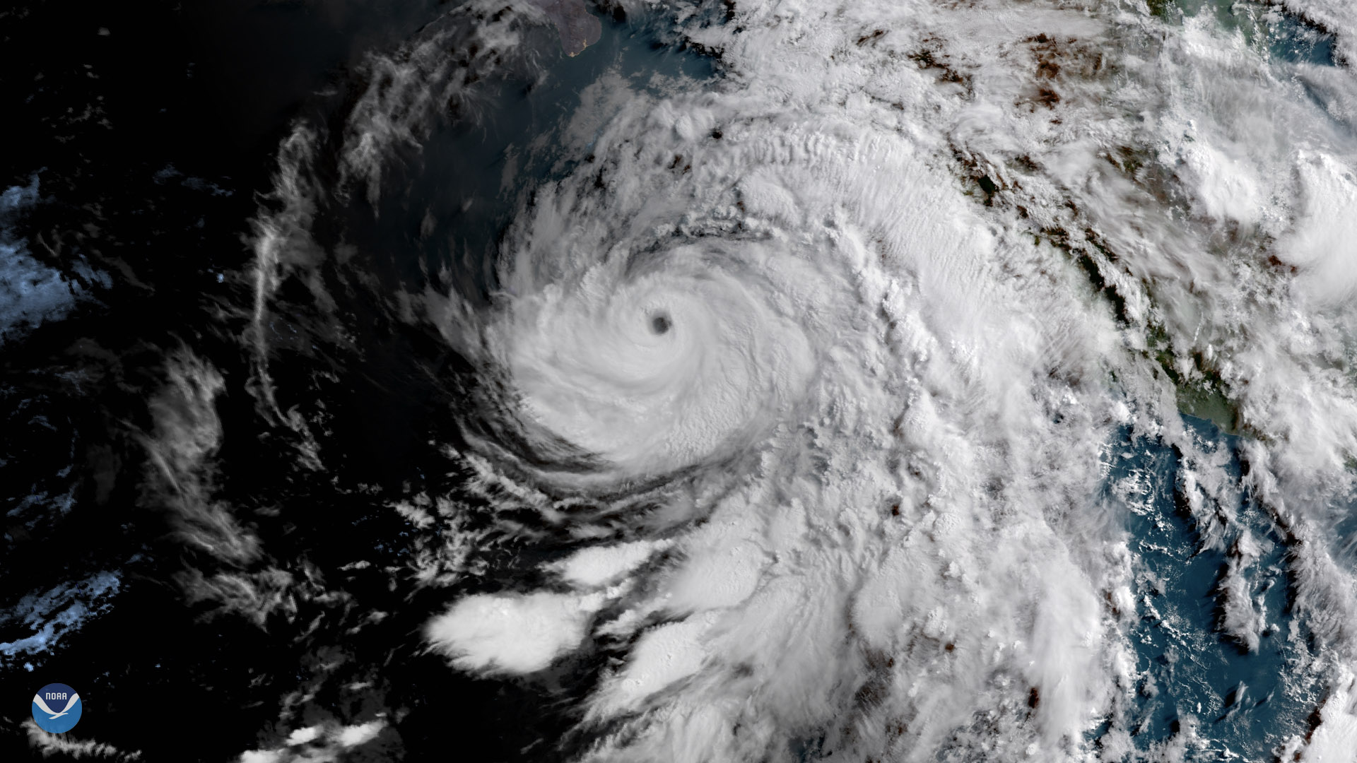 Hurricane Bud: Second major hurricane in the Eastern Pacific