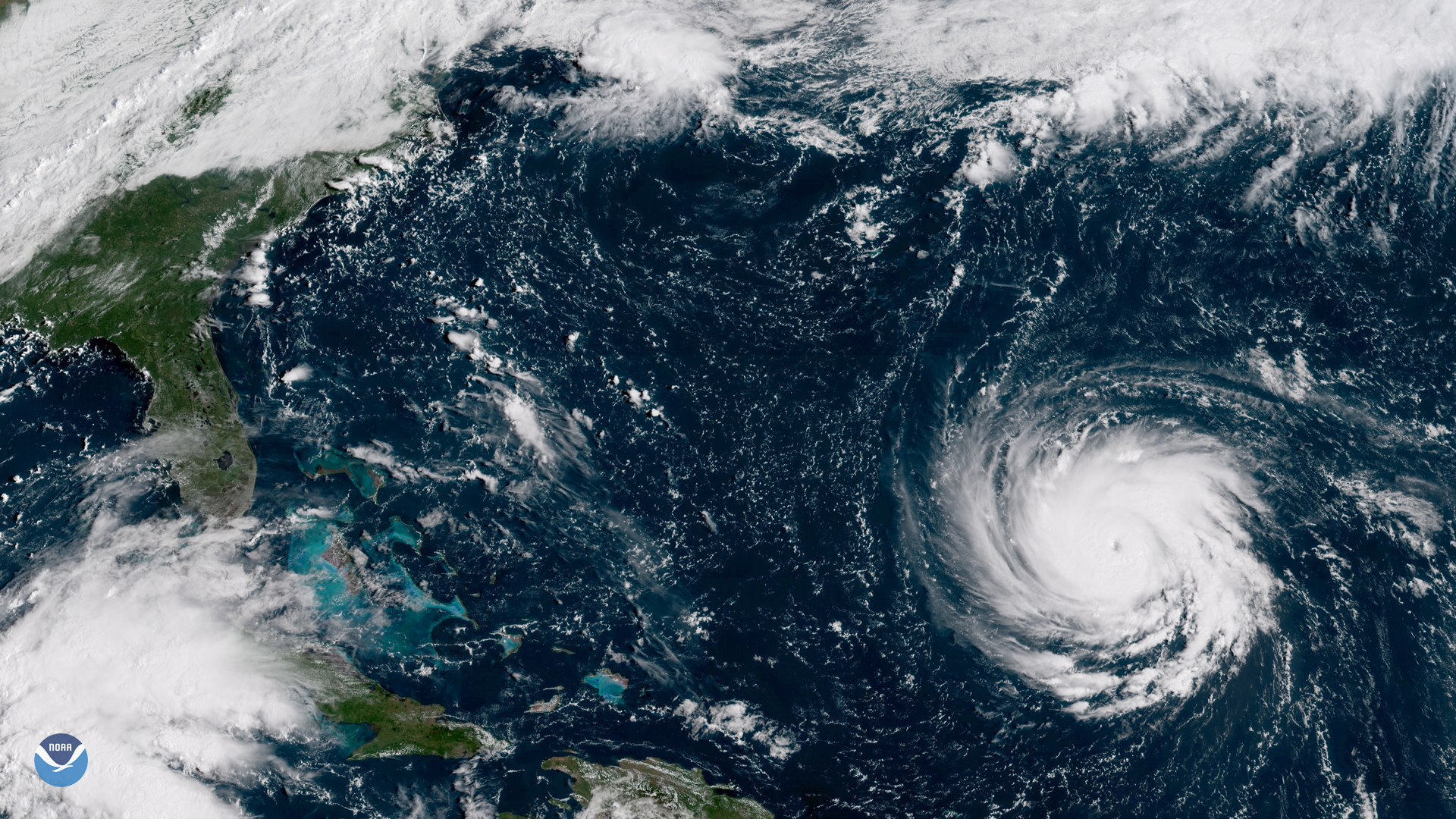 Satellite Imagery of Hurricane Florence