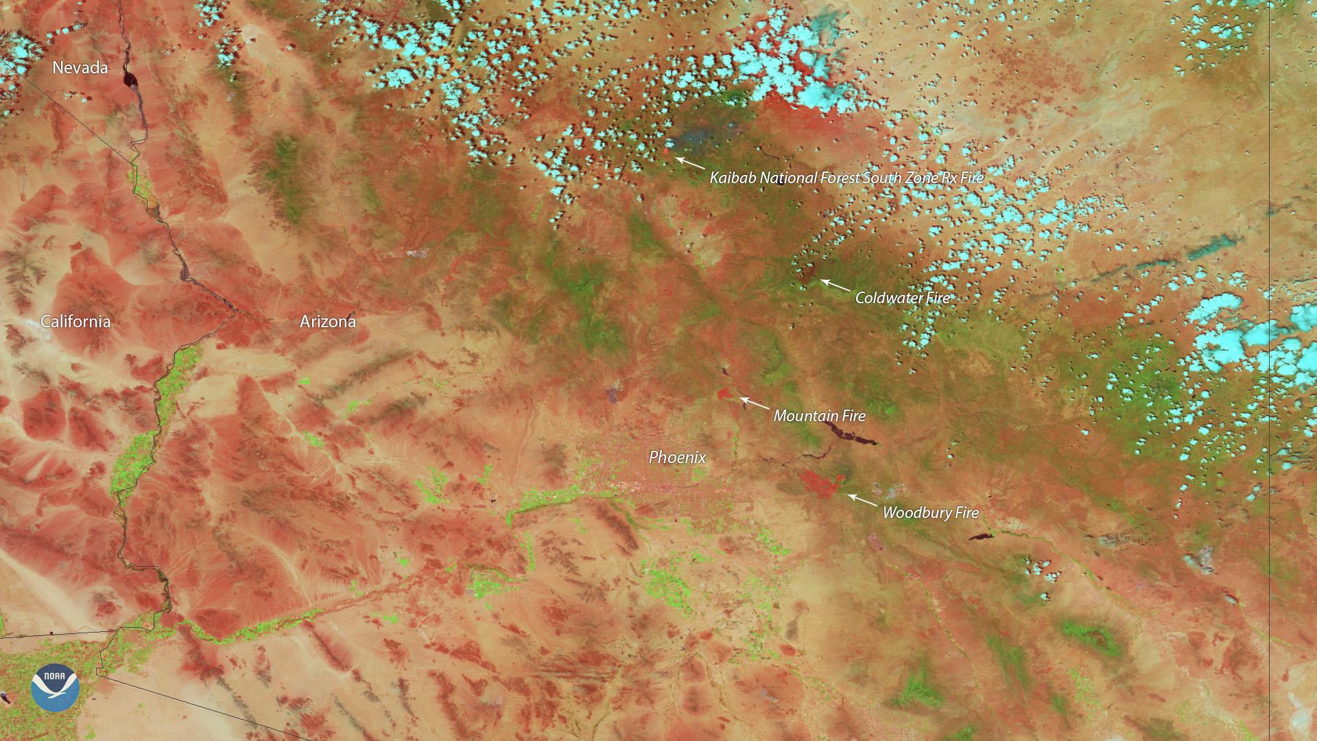 Arizona Photo of fires