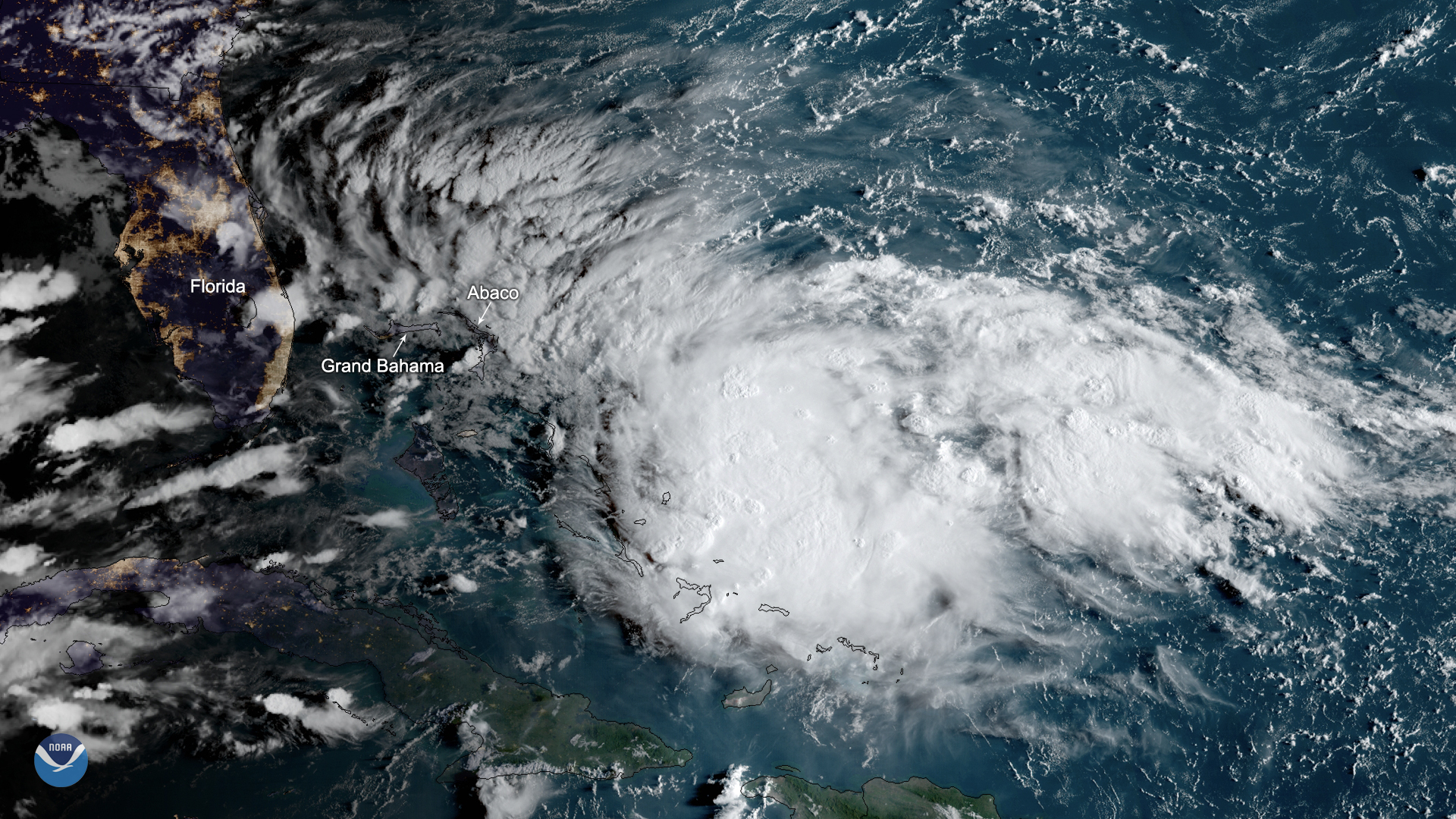 Potential Tropical Cyclone Nine Brings Rain and Wind to the Bahamas