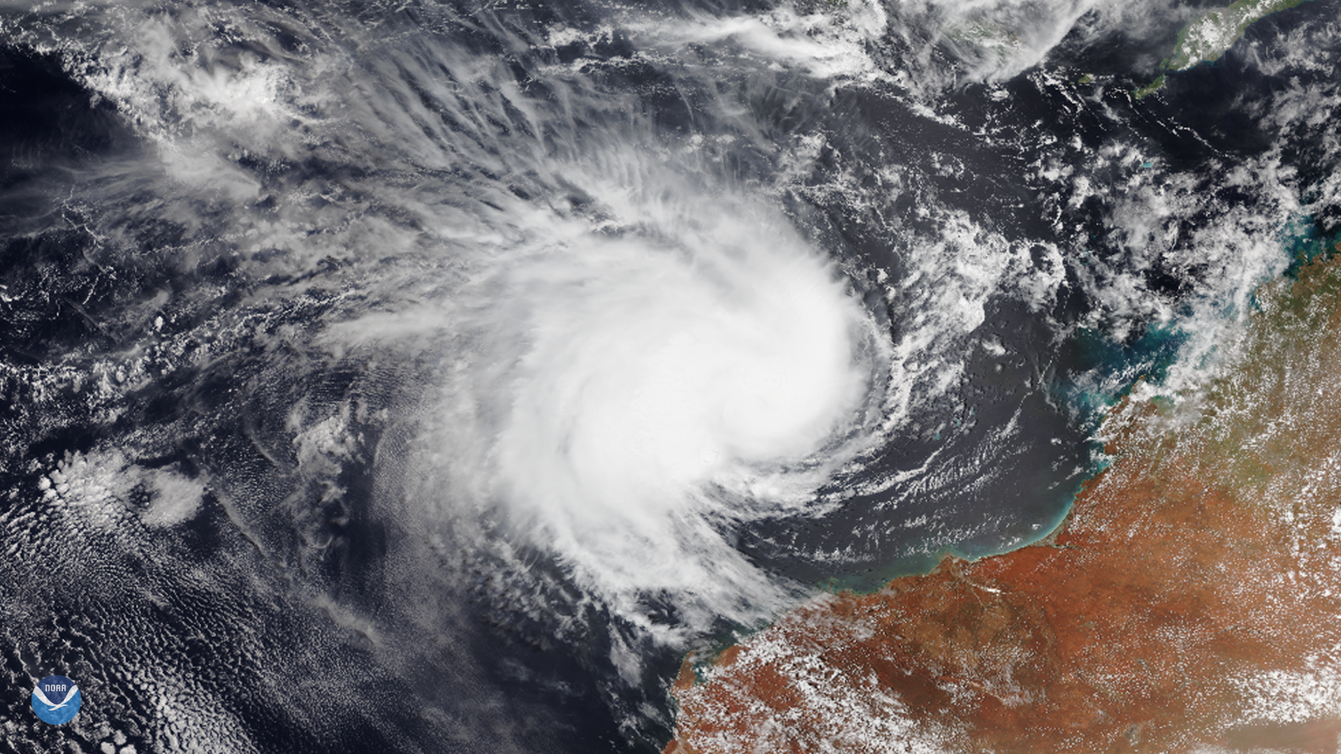 Tropical Cyclone Claudia Loses Strength as it Moves Away from Australia