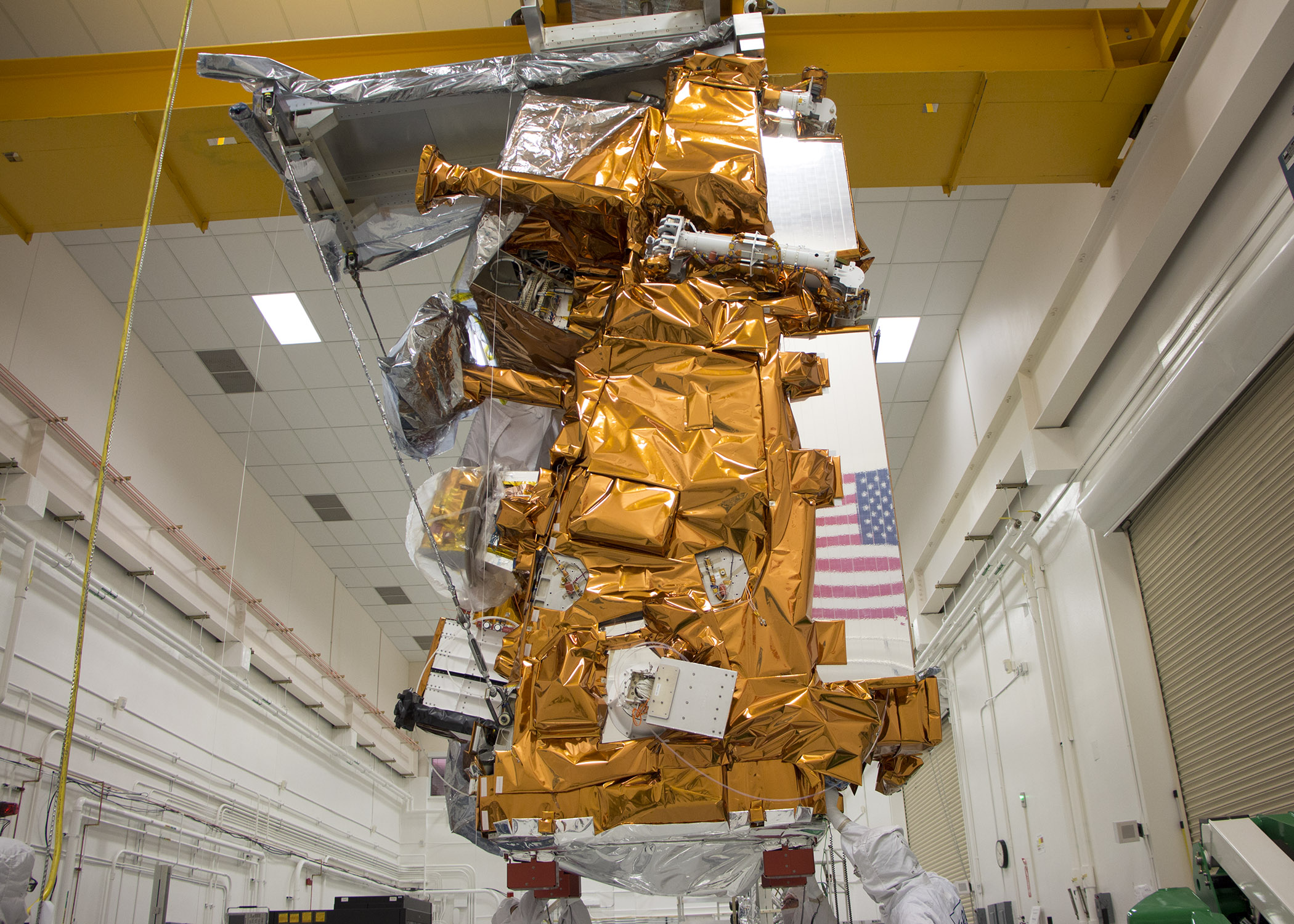 JPSS-1 satellite preparing for calibration checks