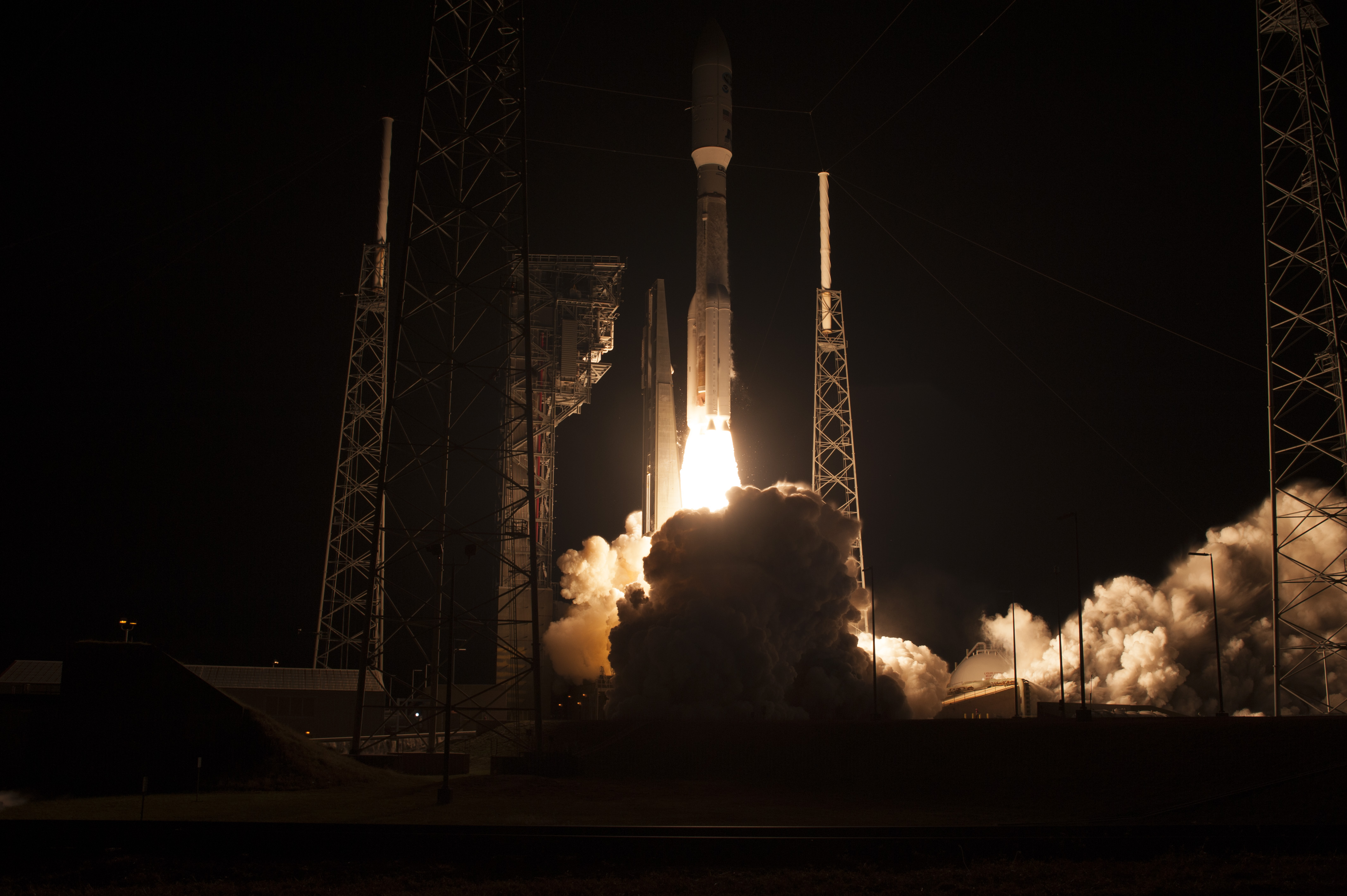 The GOES-R Satellite Launching