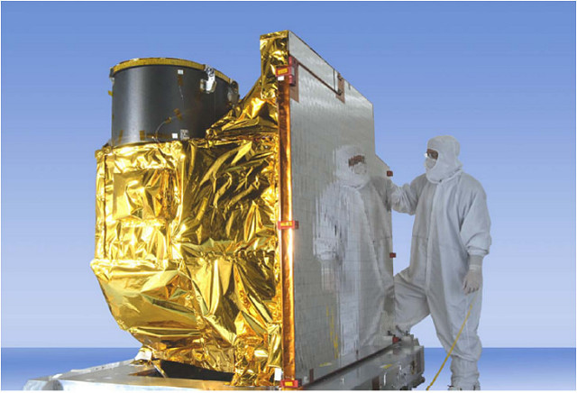 A photo of the GOES-17 Advanced Baseline Imager (ABI)​ Instrument
