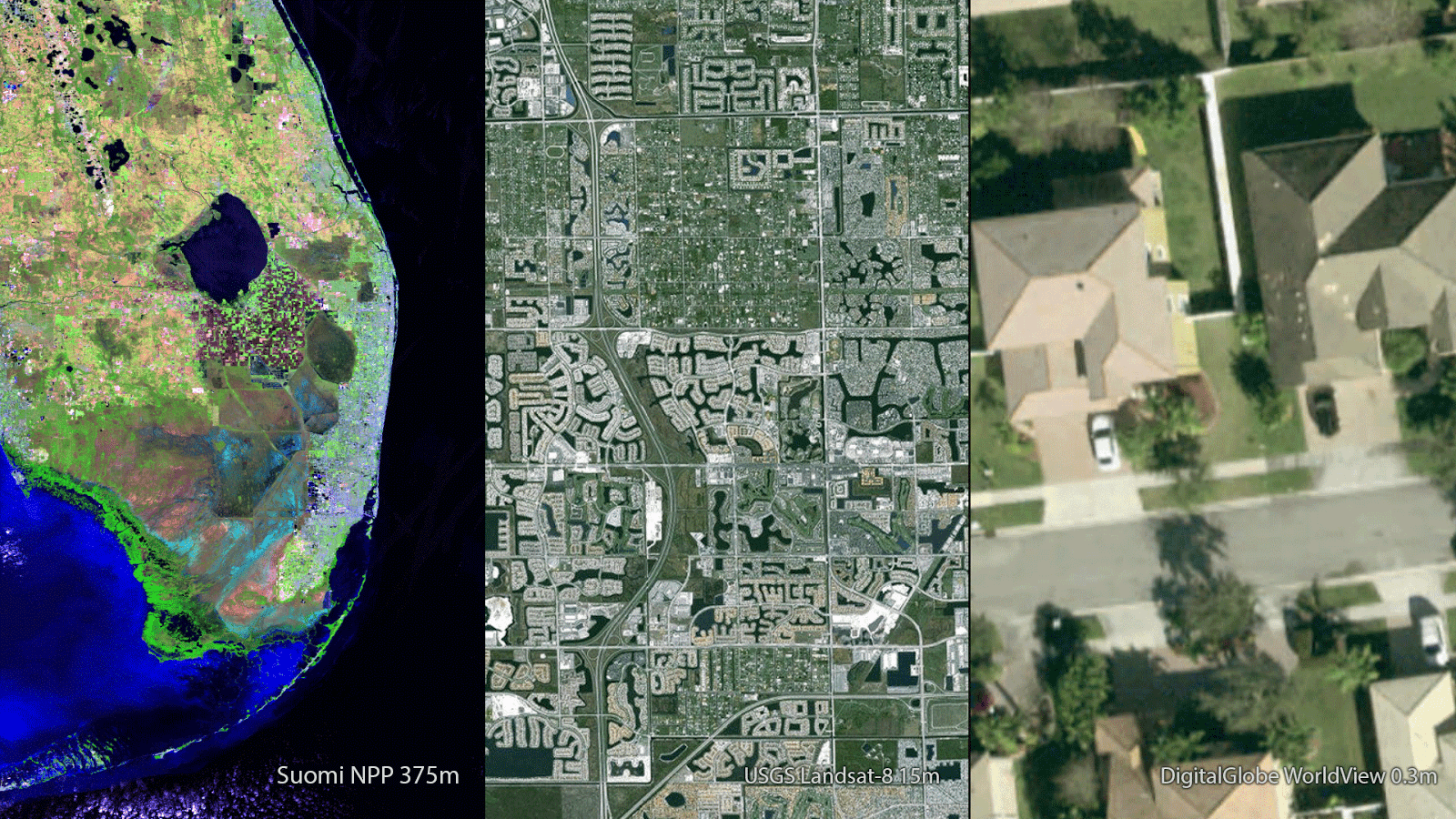 Satellite Comparison