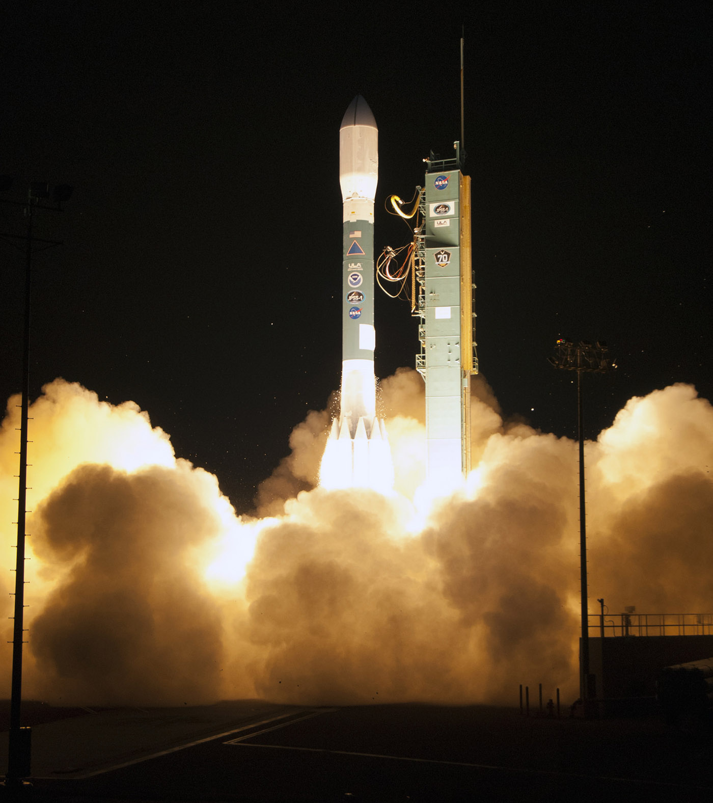 JPSS-1 (NOAA-20) lifts off from Vandenberg Air Force Base on November 18, 2017.