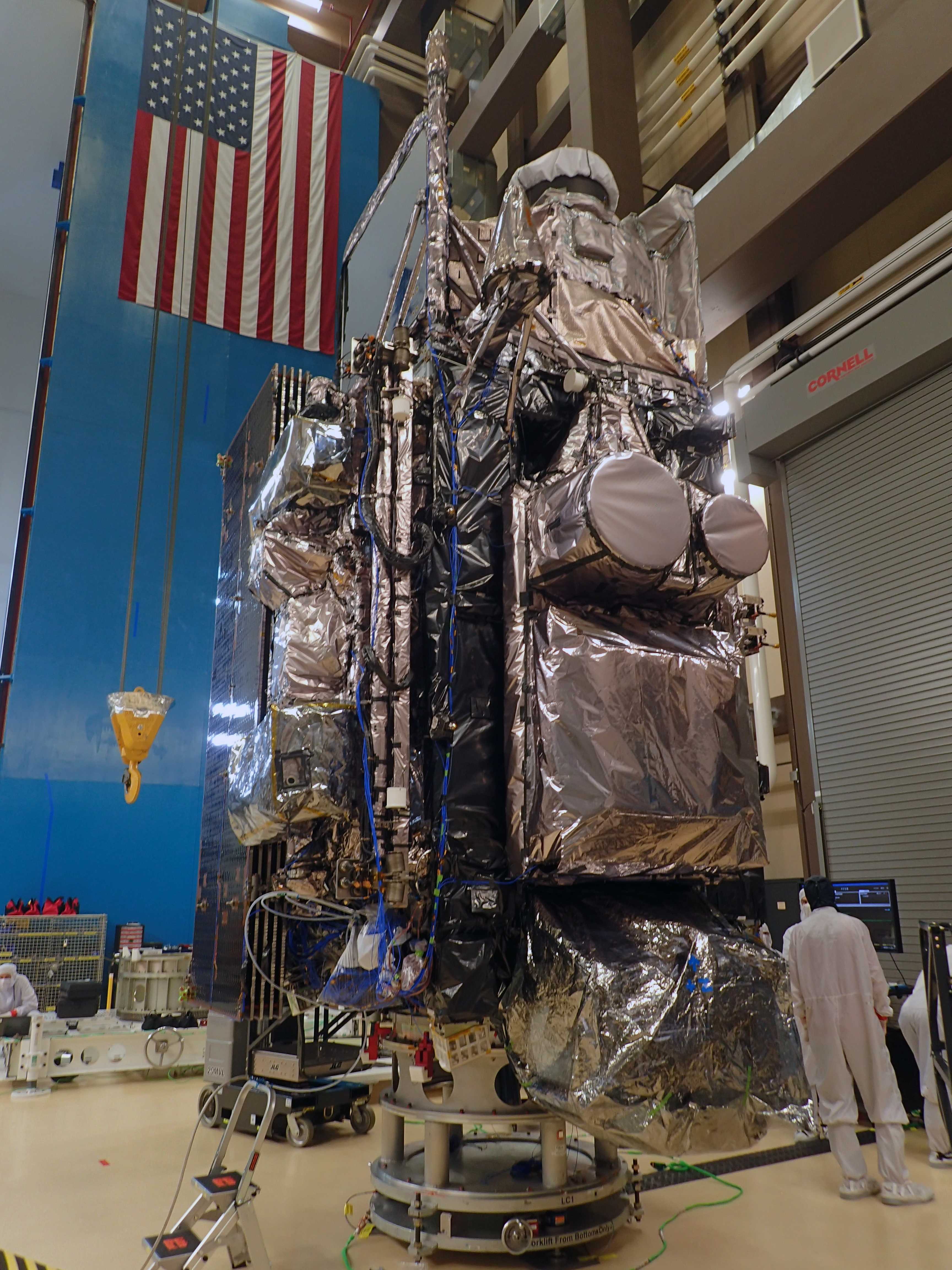 GOES-T after vibration testing