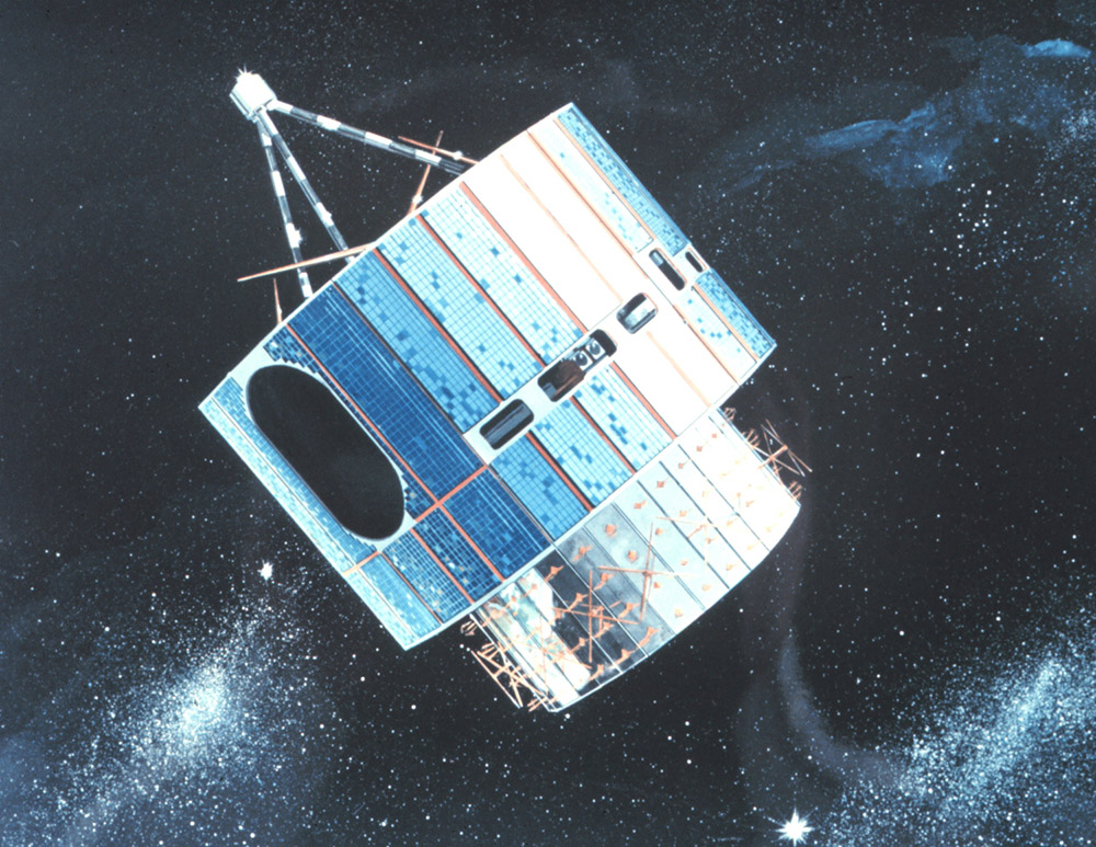 Artist's rendition of GOES-1