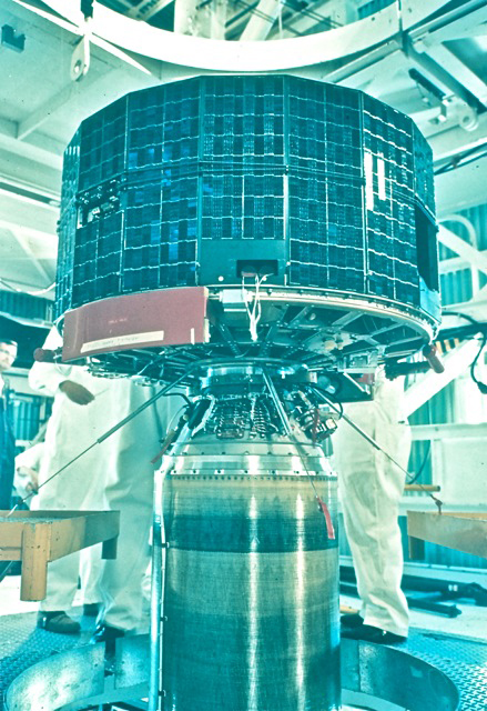 TIROS 1 satellite under development